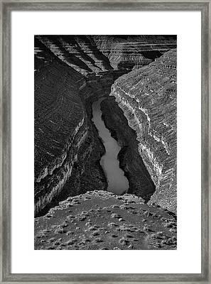 San Juan River Framed Print