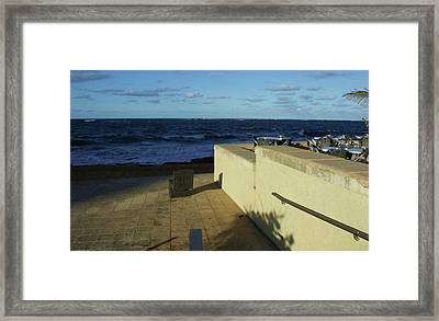 San Juan Silver Chairs Framed Print by Anna Villarreal Garbis