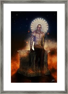 San Liberto Framed Print by Joaquin Abella