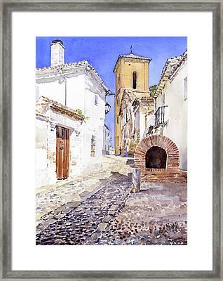 San Luis Granada Framed Print by Margaret Merry