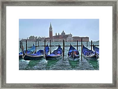 San Marco Hdr Framed Print