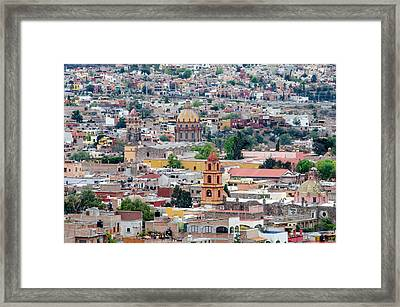 San Miguel De Allende Framed Print by Rob Huntley