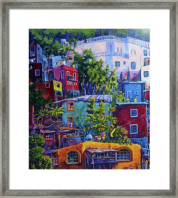 San Miguel, Mexico Framed Print