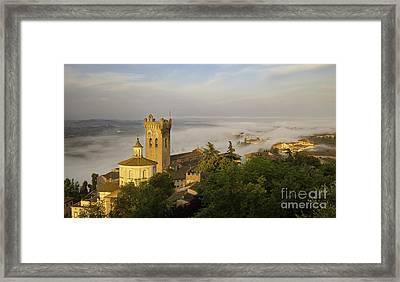 San Miniato Dawn Framed Print
