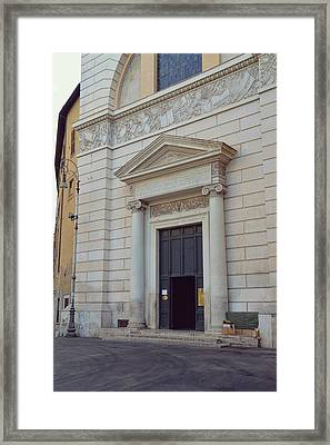 San Pantaleo Framed Print by JAMART Photography