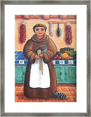 San Pascual In Brown Framed Print