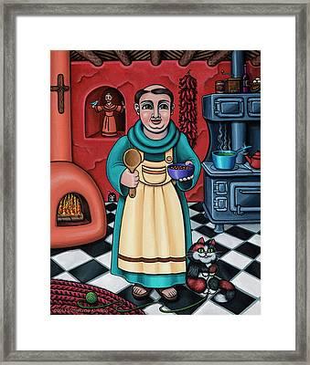 San Pascual Paschal Framed Print by Victoria De Almeida