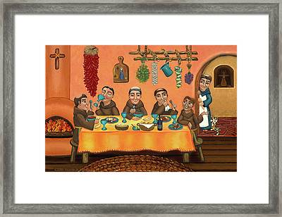 San Pascuals Table 2 Framed Print by Victoria De Almeida