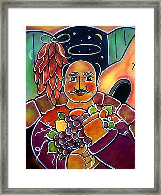 Framed Print featuring the painting San Pasqual by Jan Oliver-Schultz