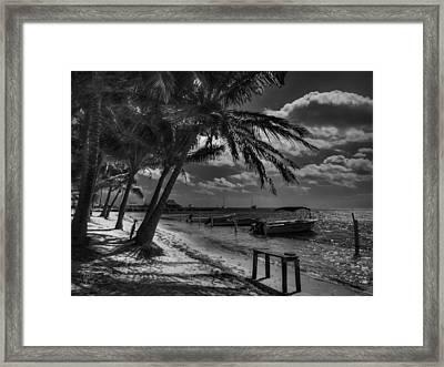 San Pedro 001 Bw Framed Print by Lance Vaughn