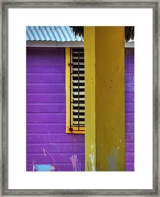 San Pedro Abstract 001 Framed Print