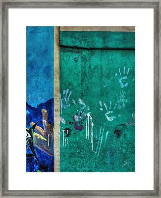 San Pedro Abstract 003 Framed Print