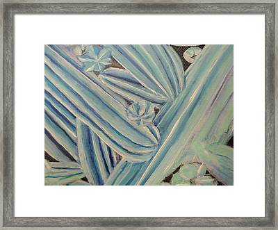 Framed Print featuring the painting San Pedro by Steven Holder
