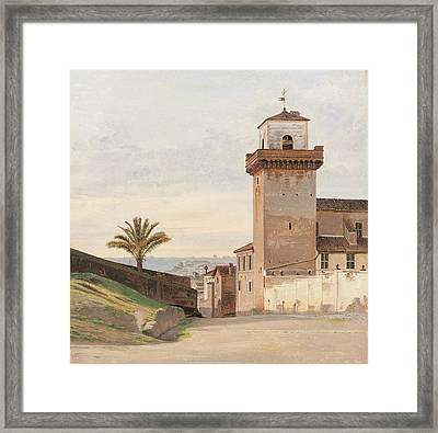 San Pietro In Vincoli Framed Print by Constantin Hansen