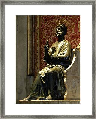 Framed Print featuring the photograph San Pietro by Manuela Constantin