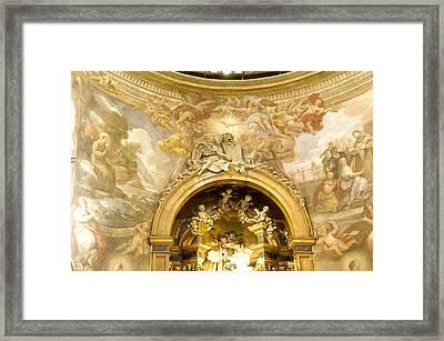 San Rafael / Altar Framed Print