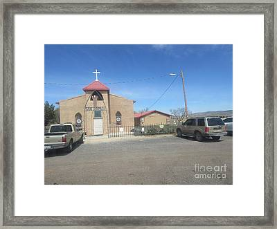 San Rafael Church Framed Print