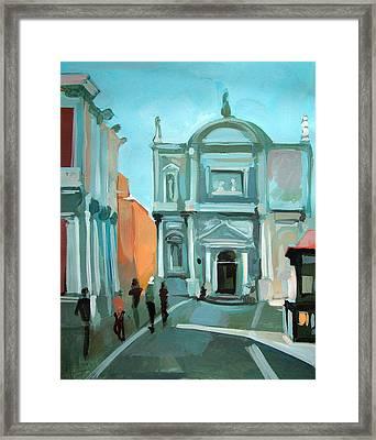 San Rocco Framed Print