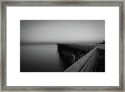 San Simeon California Long Exposure Framed Print