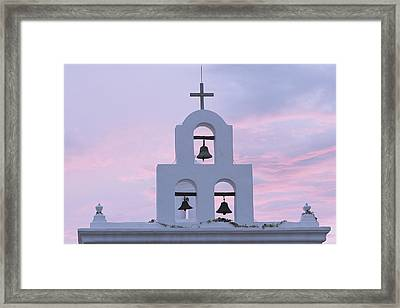 San Xavier Mission 1782, Near Tucson Framed Print by Phil Schermeister