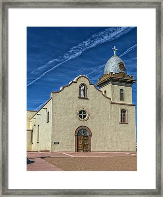 San Ysleta Mission Framed Print