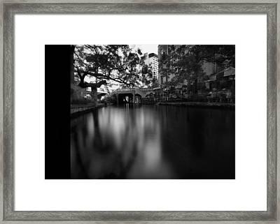 Sanantonio Long River Framed Print by Luca Baldassari