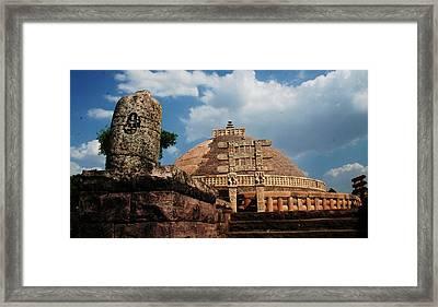 Sanchi Stupa  Framed Print by Mohammed Nasir