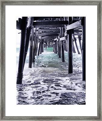 Sanclemente Pier Framed Print