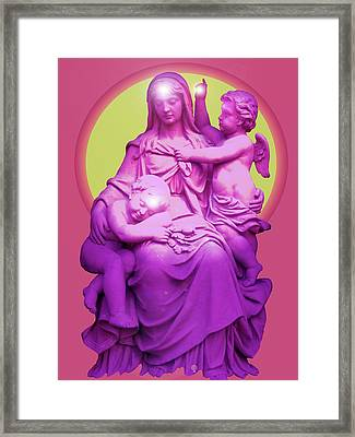 Sancta Maria No. 01 Framed Print by Ramon Labusch