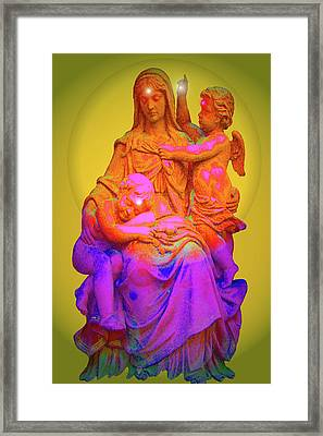 Sancta Maria No. 02 Framed Print by Ramon Labusch