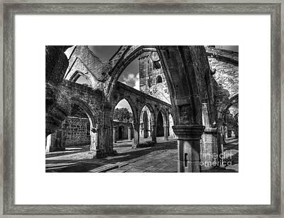 Sanctuarium Contritum Unum Framed Print by John Ellison