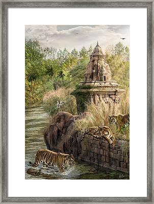 Sanctuary Framed Print by Don Olea