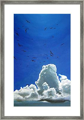 Sanctuary Framed Print by Fiona Jack