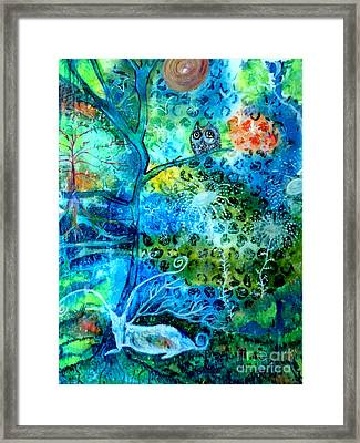 Sanctuary Framed Print by Julie Engelhardt