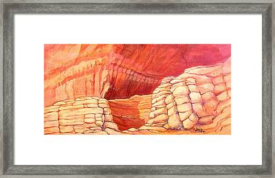 Sanctuary Framed Print by Nancy Matus