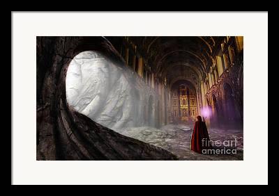 Lore Digital Art Framed Prints