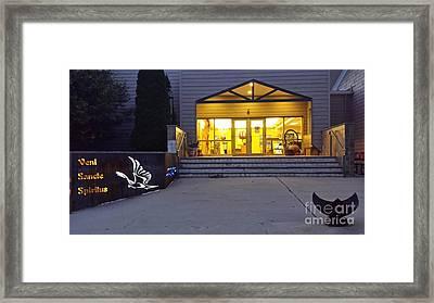 Sanctus Glow Framed Print