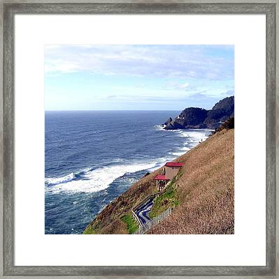 Sand And Sea 5 Framed Print by Will Borden