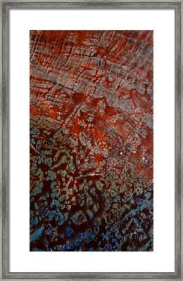 Sand And Sea II Framed Print