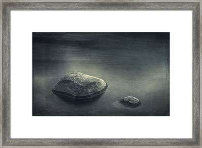 Sand And Water Framed Print by Scott Norris