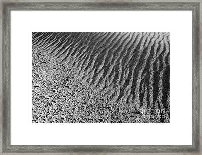 Sand Art I Framed Print by Alexander Kunz