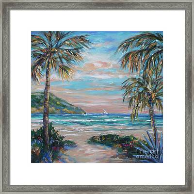 Sand Bank Bay Framed Print