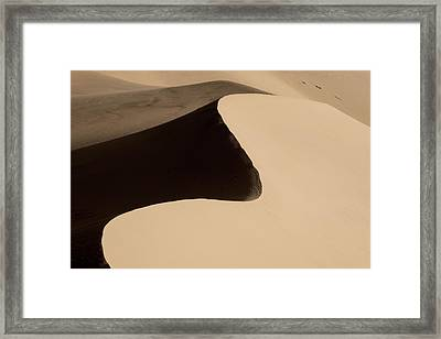 Sand Framed Print by Chad Dutson