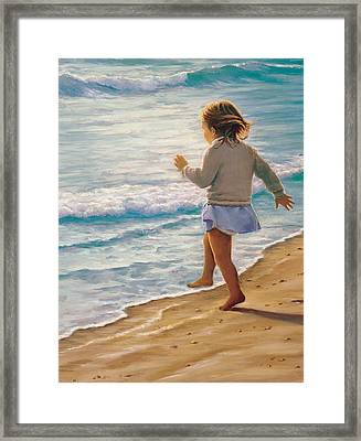 Sand Dancer Framed Print