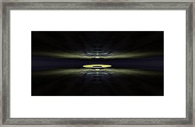 Sand Disk Framed Print by Pelo Blanco Photo