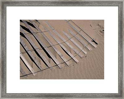 Sand Drift Framed Print by Odd Jeppesen