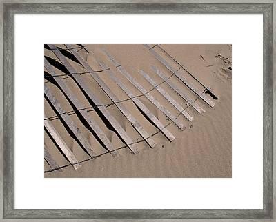 Sand Drift Framed Print