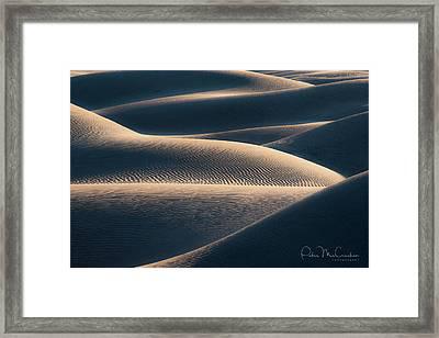 Sand Dune #2 Framed Print by Peter McCracken