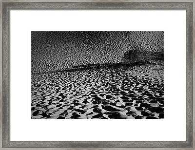 Sand Dune Framed Print by Catherine Lau
