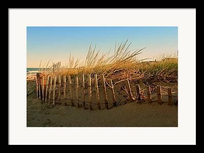 Bay Head Beach Framed Prints
